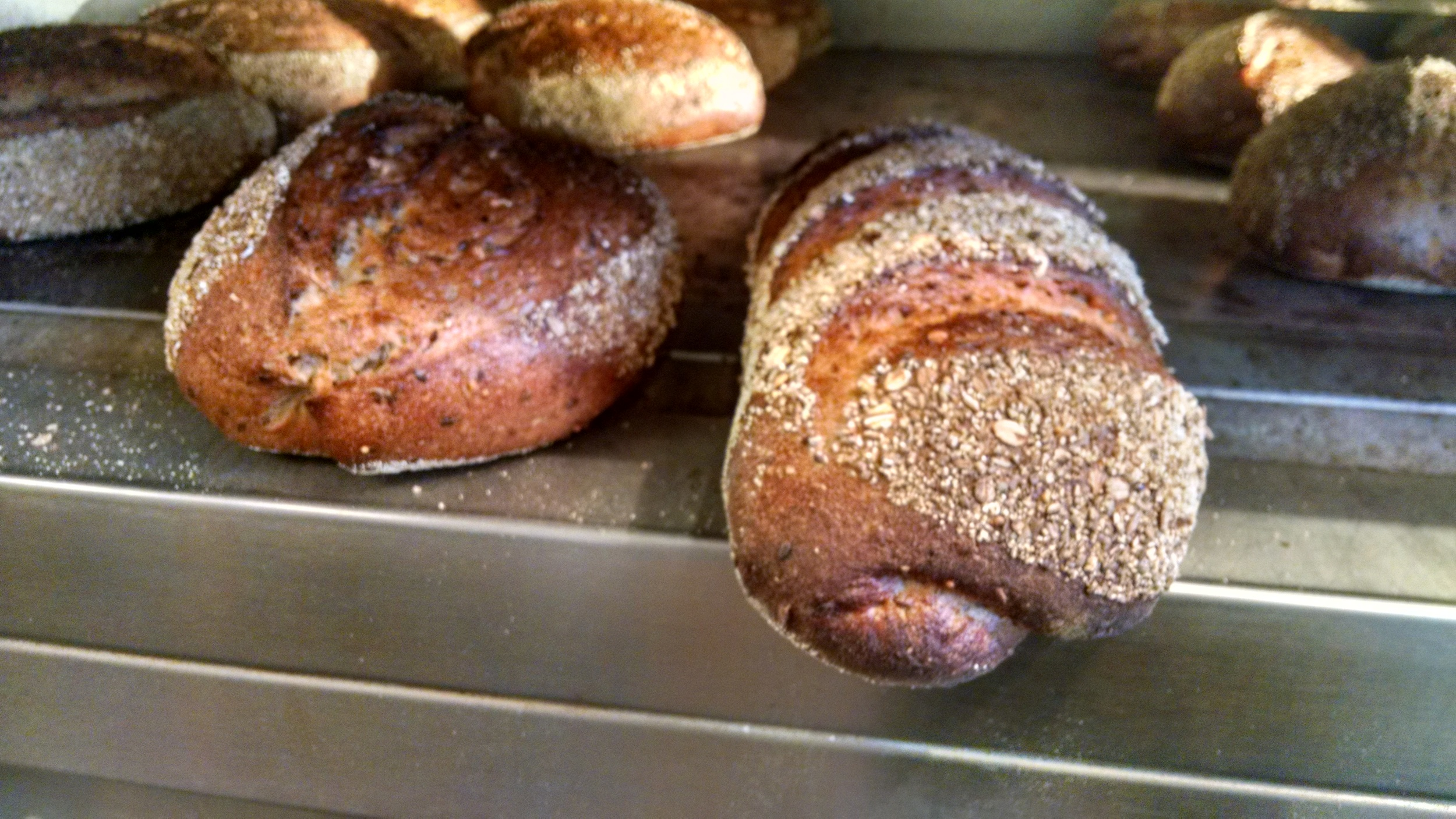 Some of the artistanal breads made at the Walla Walla Bread Company (photo courtesy of http://www.w2breadco.com/#home)